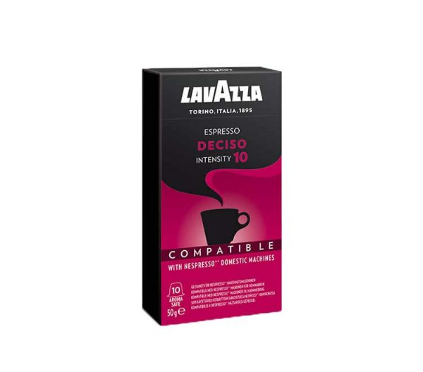 Lavazza Deciso- Kompitabilni Kapsuli za Kafe - E-Horeca.mk