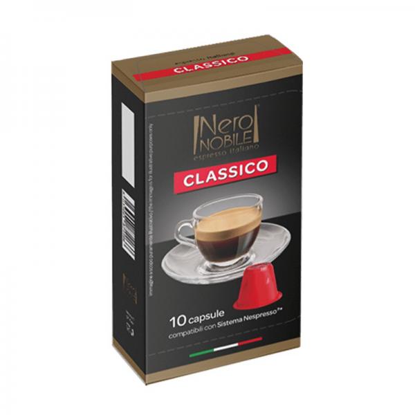 Neronobile Classico - Kompitabilni Kapsuli za Kafe - E-Horeca.mk