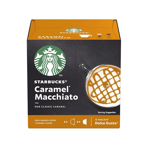Starbucks Caramel Macchiato Kafe Kapsuli - Dolce Gusto - E-Horeca.mk