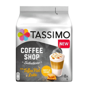 Jacobs Toffee Nut Latte Tassimo | E-Horeca.mk
