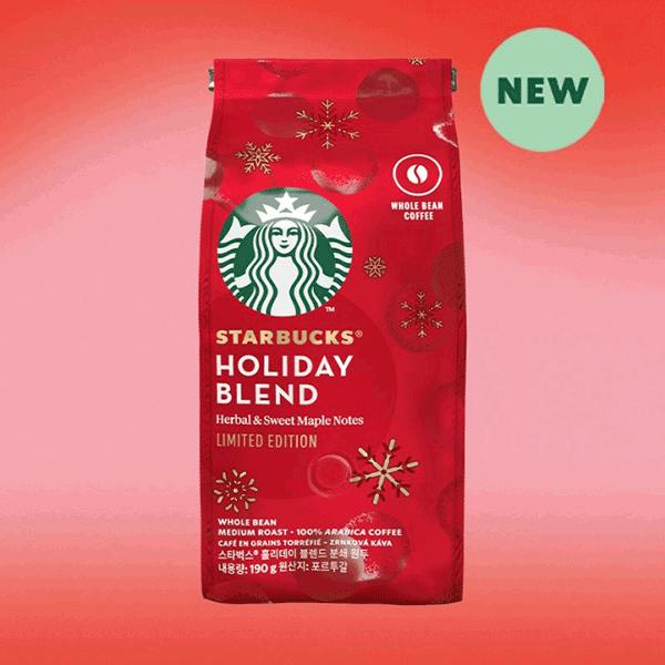 Starbucks Holiday Blend Limited Edition 190gr | E-Horeca.mk